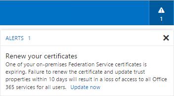 Office-365-Alert-Renew-your-certificates